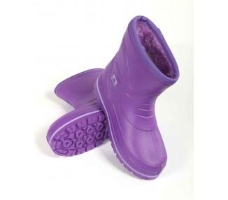 York-Boots, lila, kurzer...