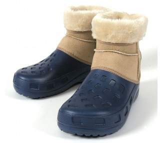 Ottawa Boot, navy blue-beige