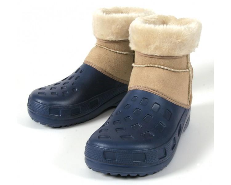 Ottawa Boot, navy blue-beige