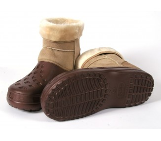 Ottawa Boot, brown-beige