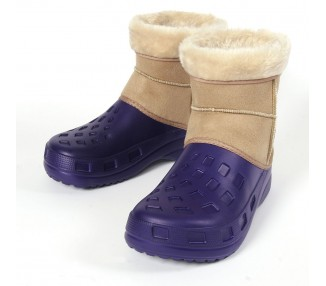 Ottawa Boot, purple-beige