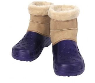 Ottawa Boot, purple-beige