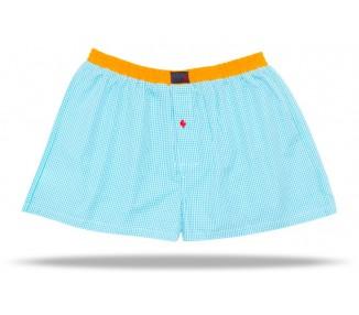 Modell: Orange-Blue Karo